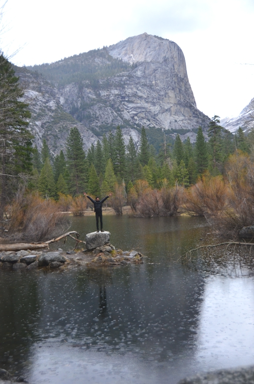 It's called Mirror Lake for a reason