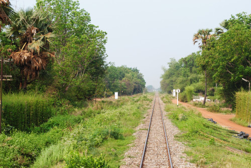 Train Tracks in Thailand