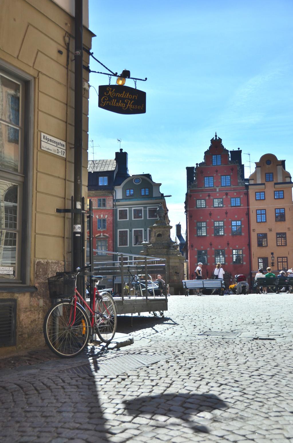 Afternoon in Gamla Stan Stockholm