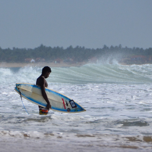 Arugam Bay Surfer