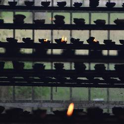 Buddhist Candles