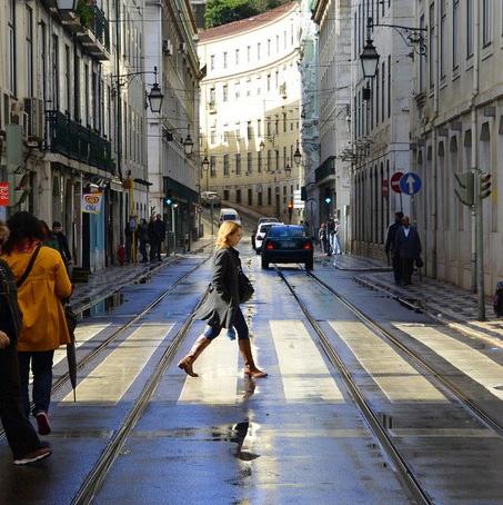Rua Augusta Lisbon Portugal