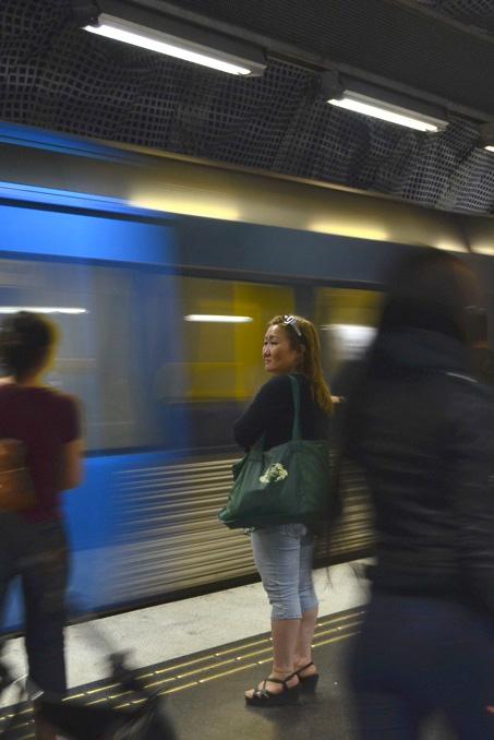 Stockholm Sweden Metro
