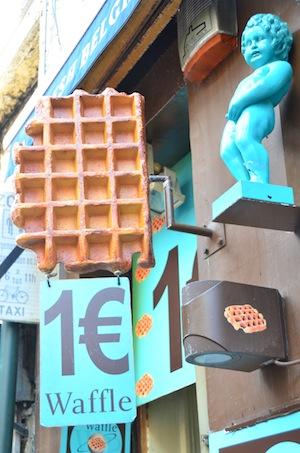 Brussels Belgian waffle