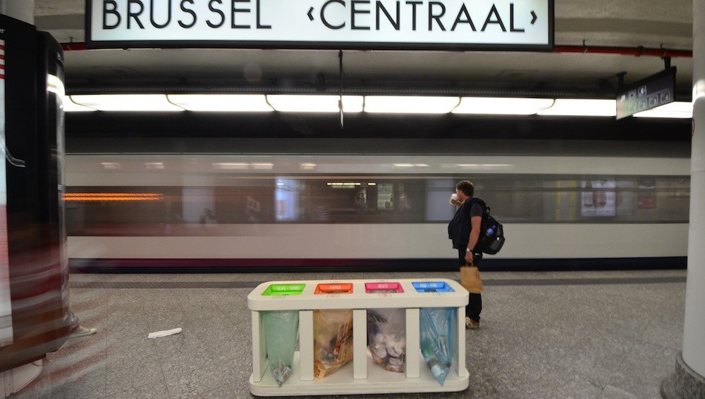 Brussels Centraal Railway Station