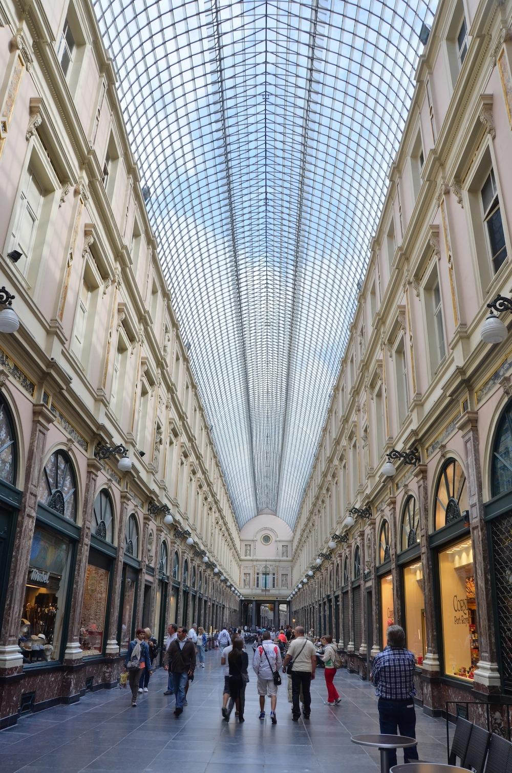 Beautiful building in Brussels