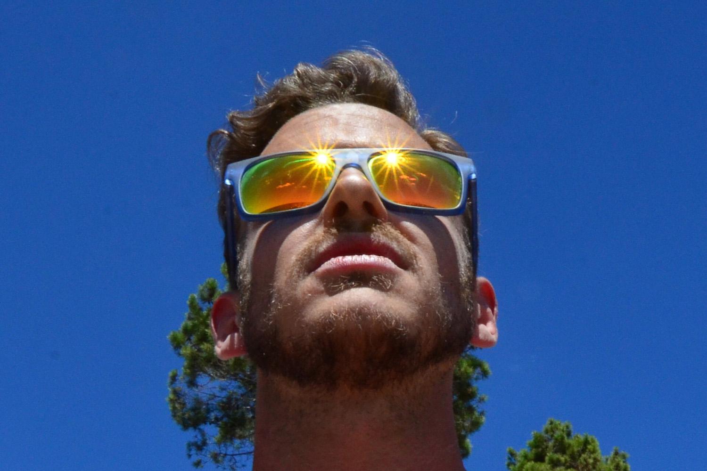 Robert Schrader in Cinque Terre, Italy