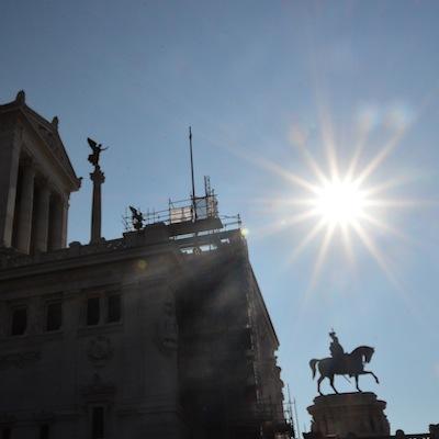 Vittorio Emanuele statue