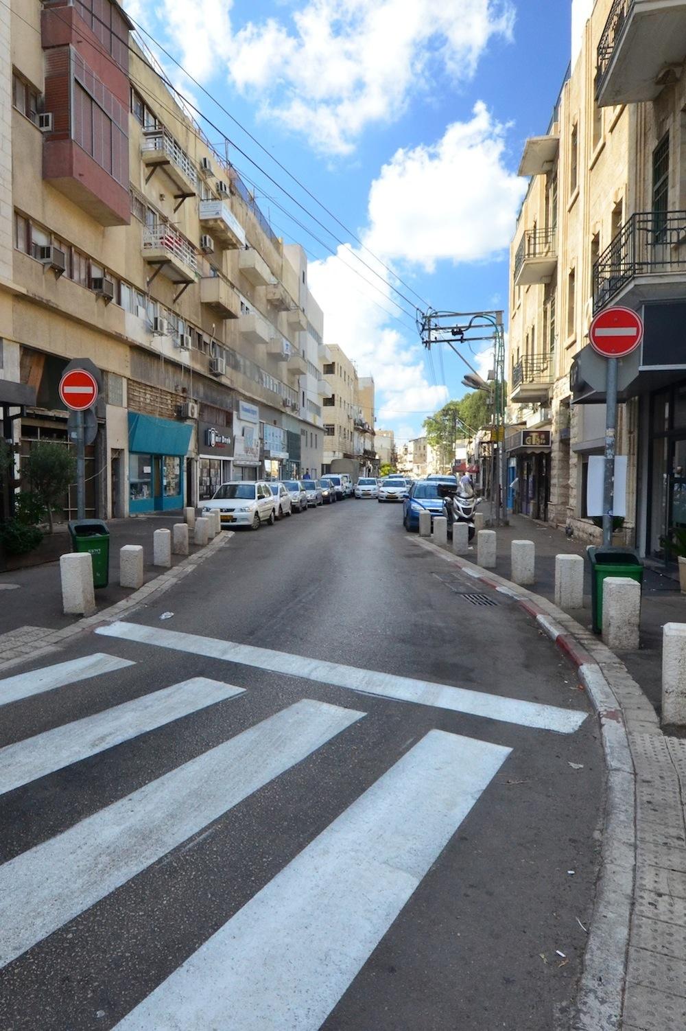 Haifa Street Scene