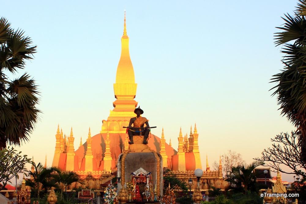 Stupa in Laos