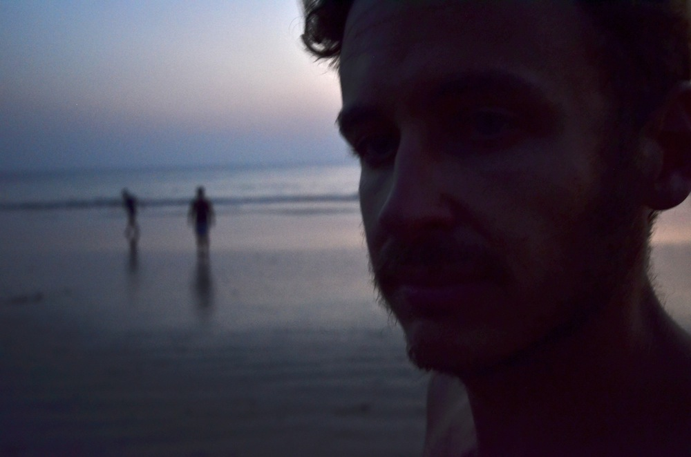 Robert Schrader in Goa, India