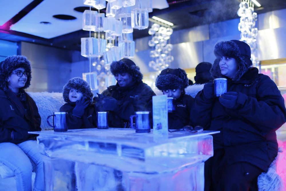 Ice Café in Dubai UAE