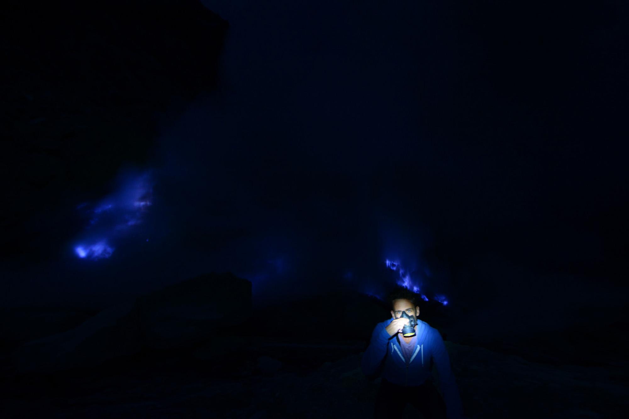 Blue Fire Volcano