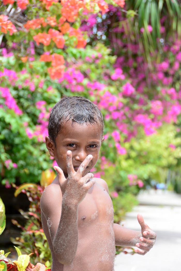 Local resident in Raja Ampat Indonesia