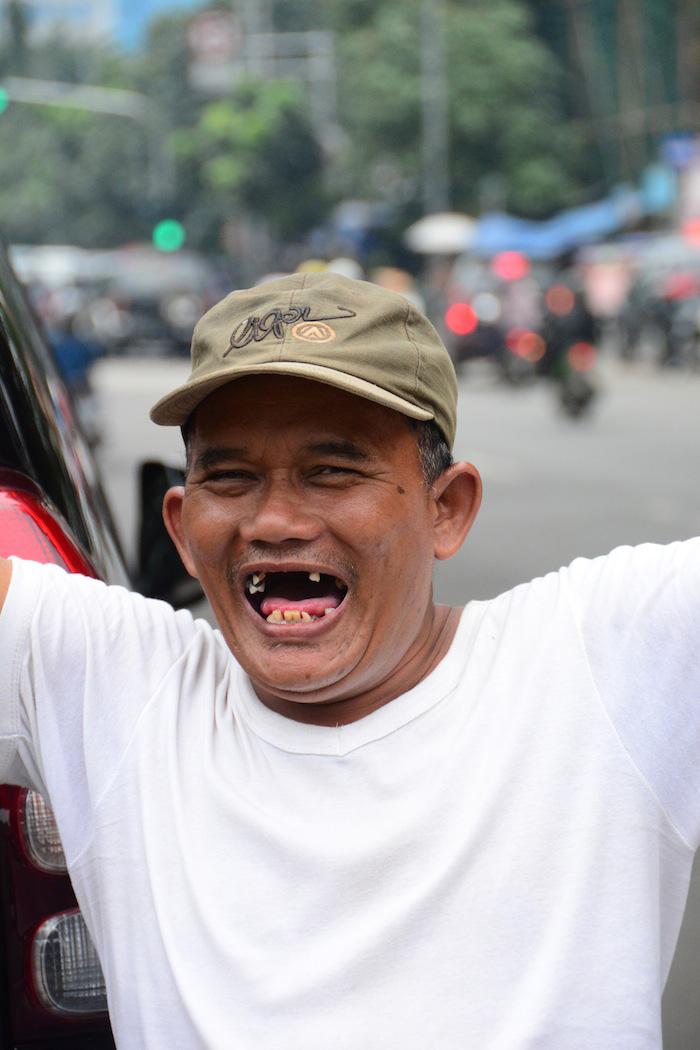 Man in Jakarta