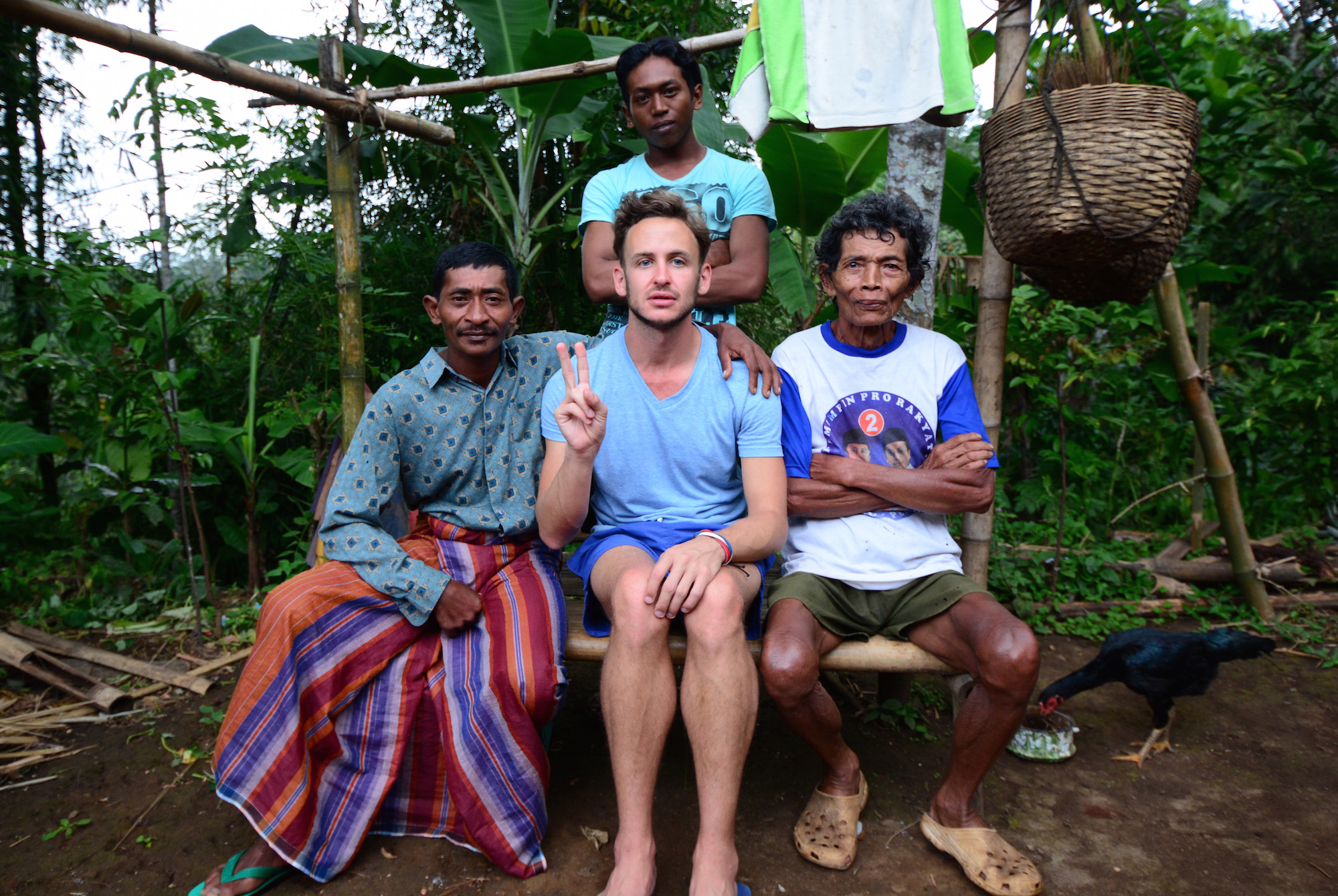 Robert Schrader in Indonesia