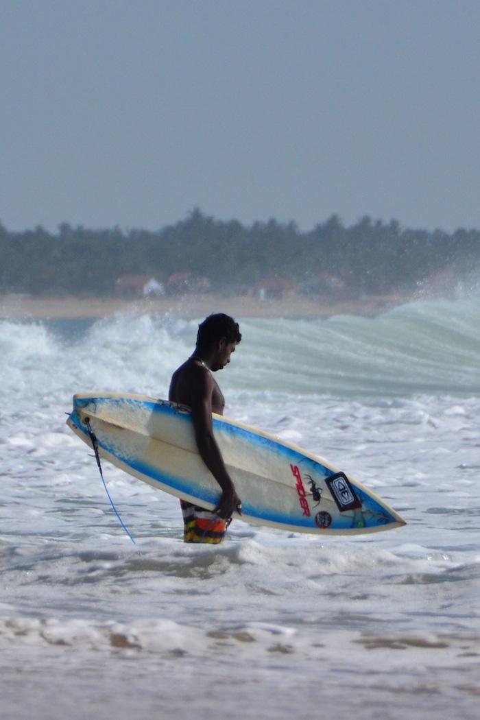 Arugam Bay Surfer