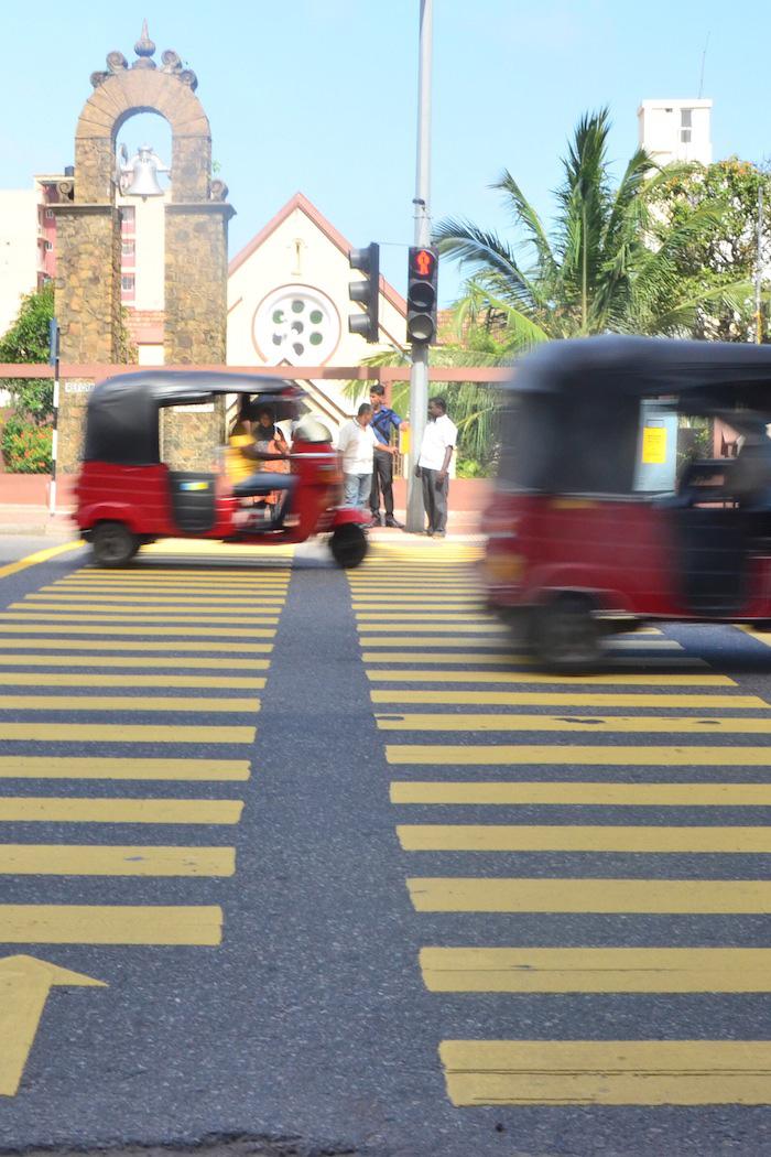 Tuk-tuk in Colombo