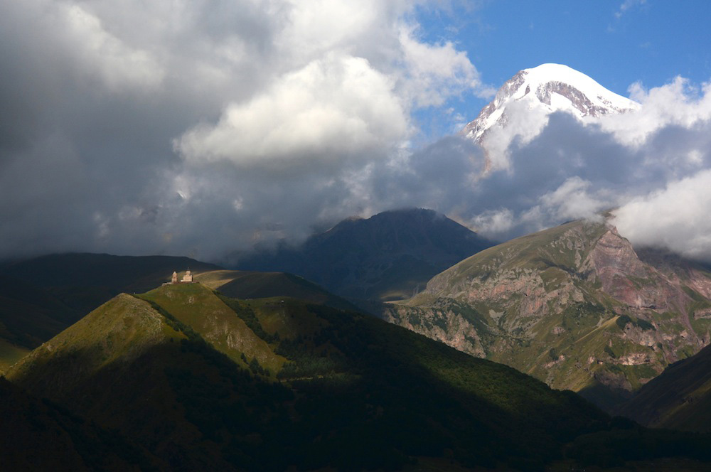The Breathtaking Georgian Caucasus Range & Amirani