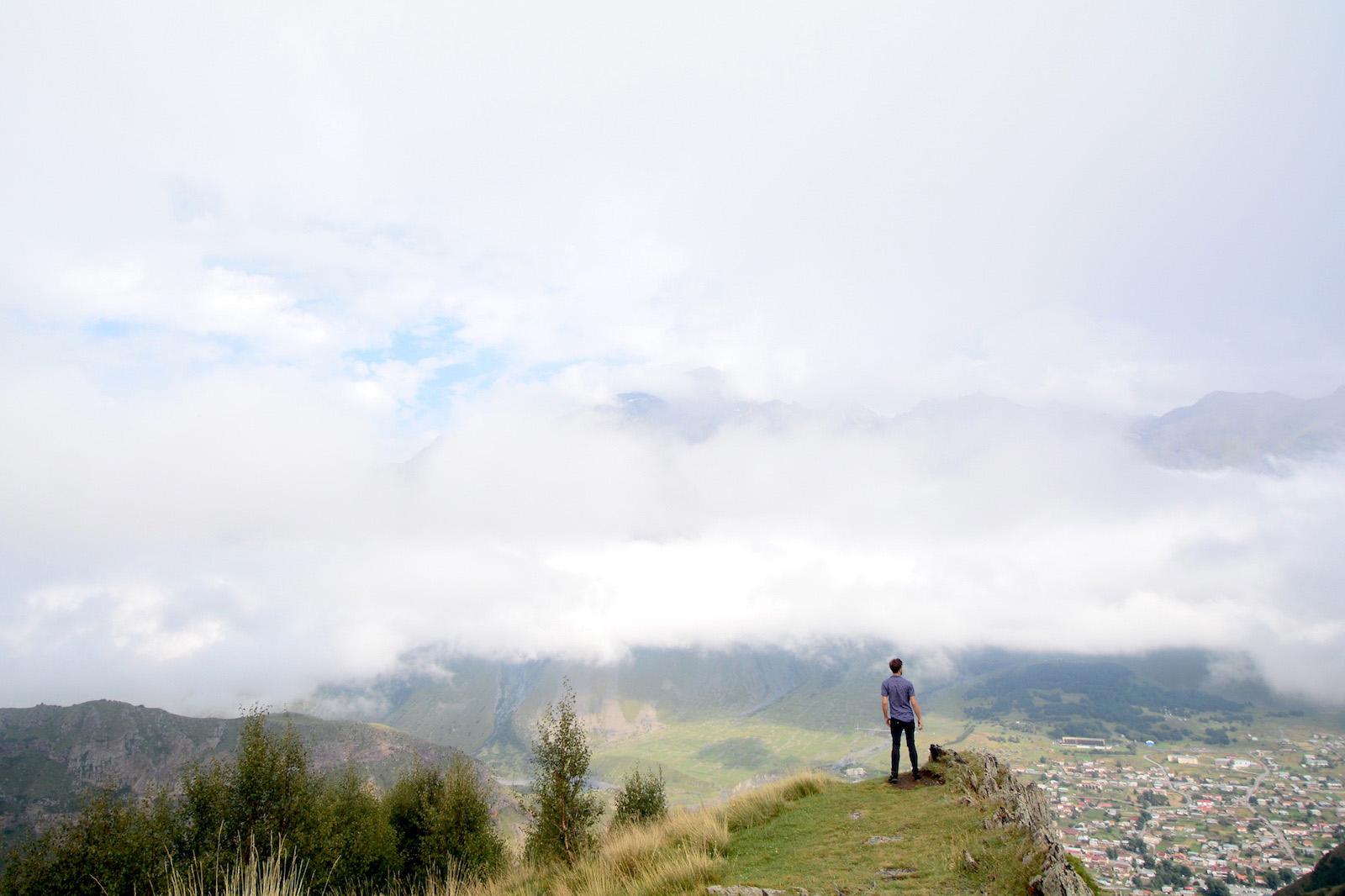 Robert Schrader in Kazbegi, Georgia
