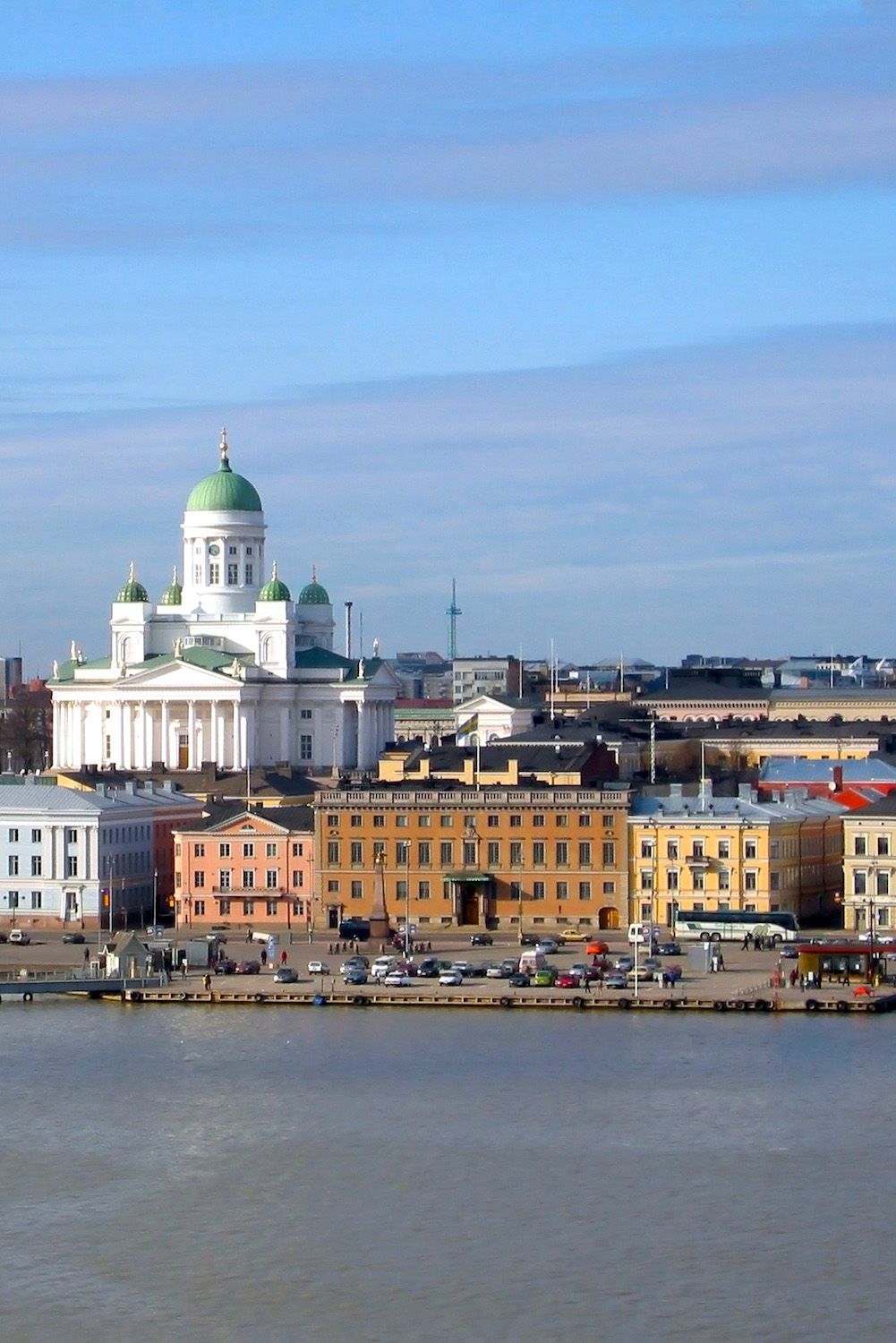 Helsinki via Wikimedia Commons user Ilmari Karonen