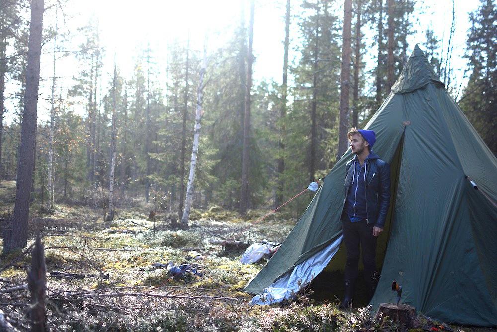 Robert Schrader in Finland