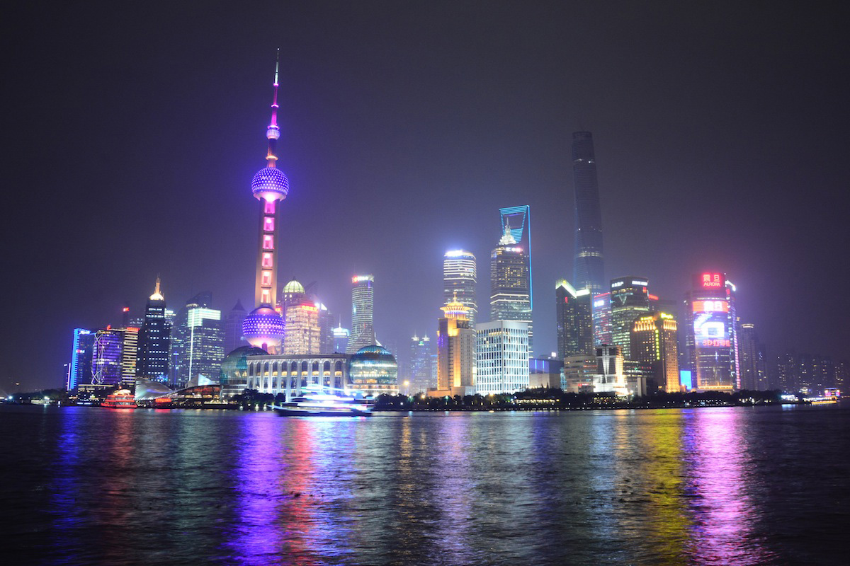 Skyline of Shanghai, China