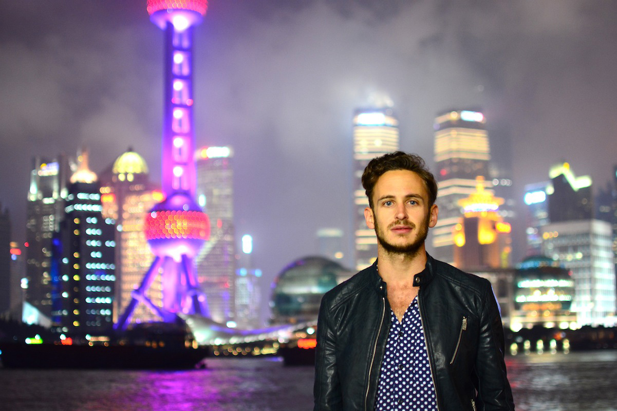 Robert Schrader in Shanghai