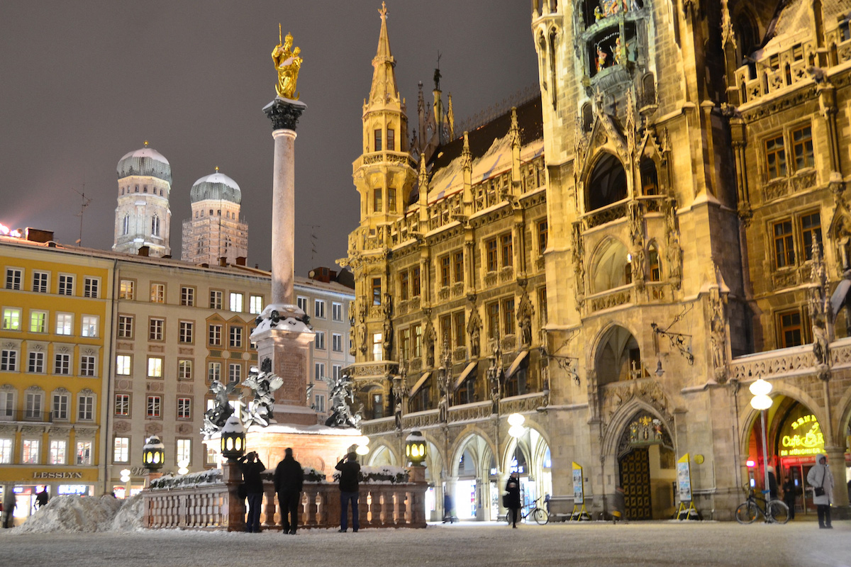 Munich, Germany in winter
