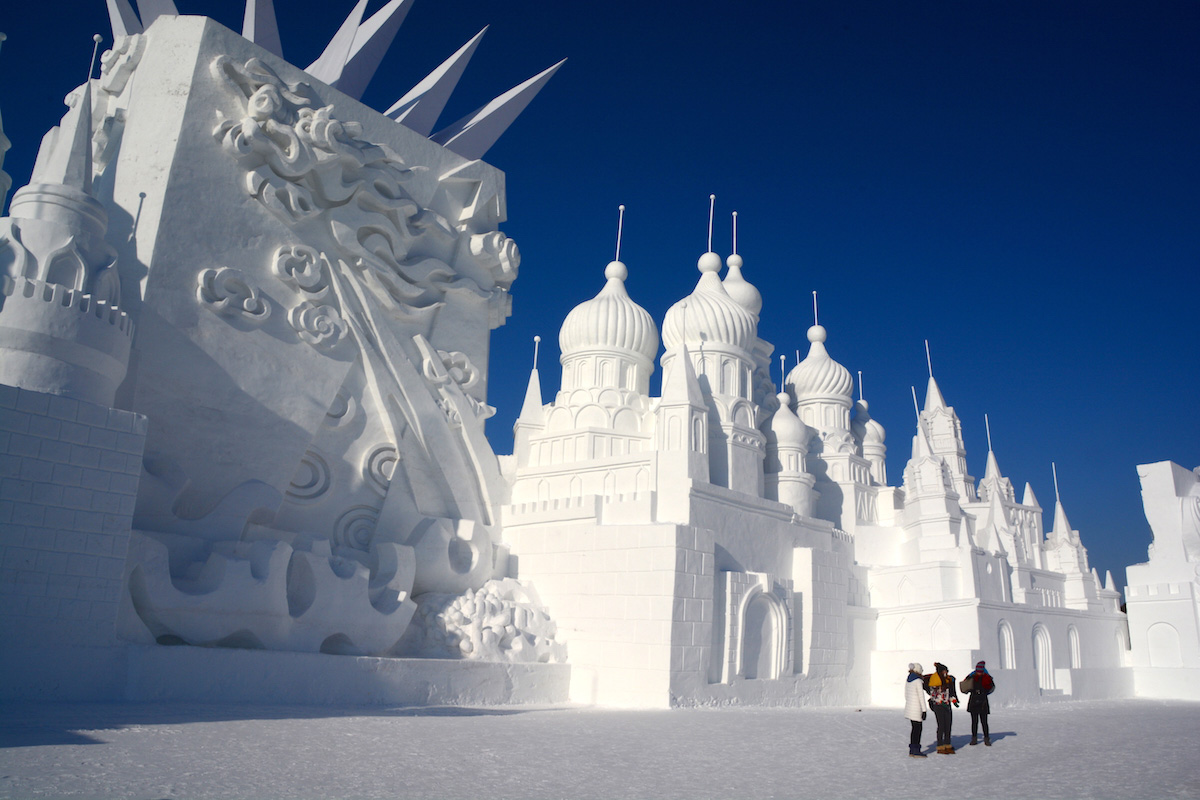 Bundle Up For China's Harbin Ice and Snow Festival