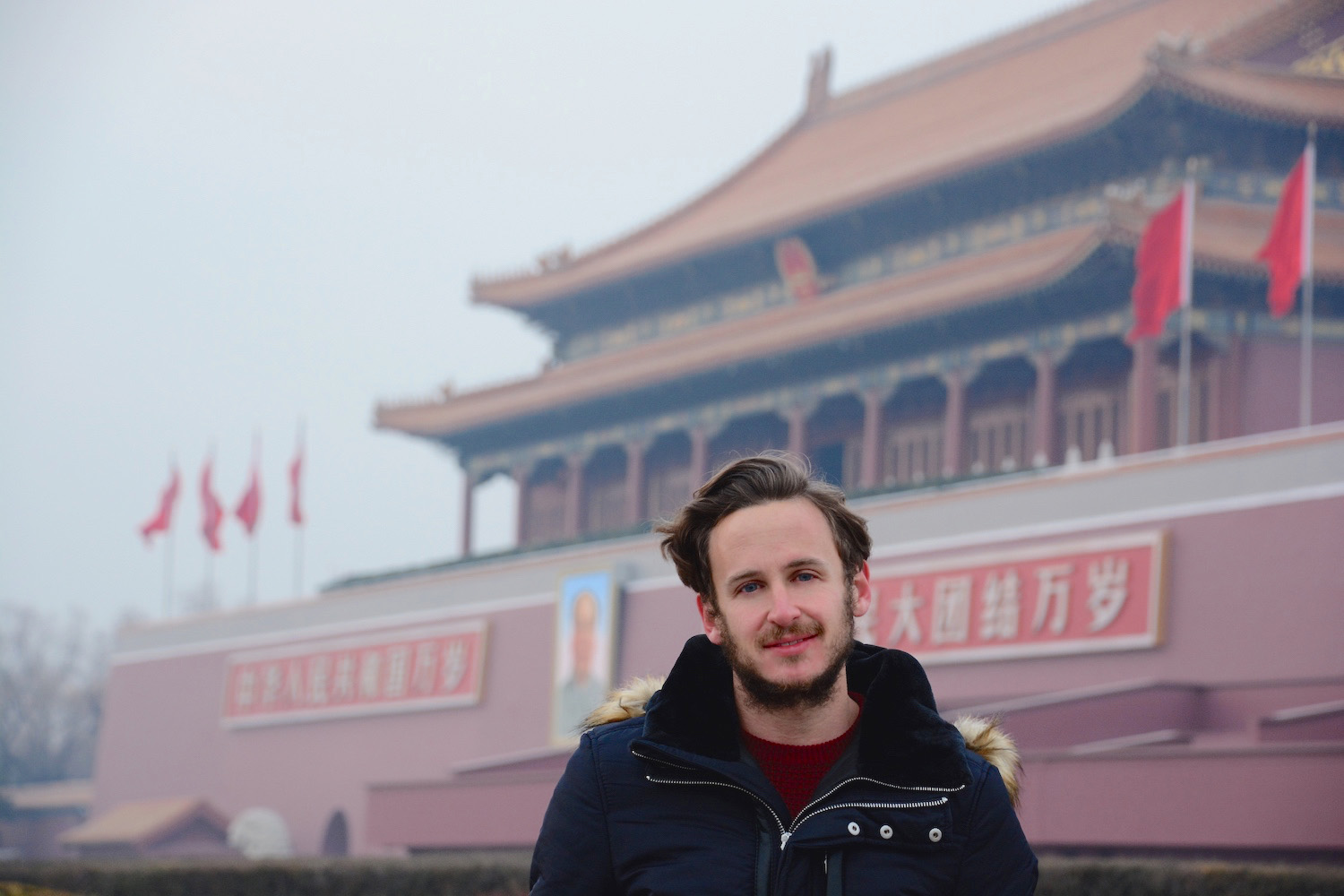 Robert Schrader in Beijing