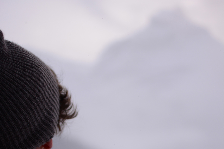 Robert Schrader in the Swiss Alps