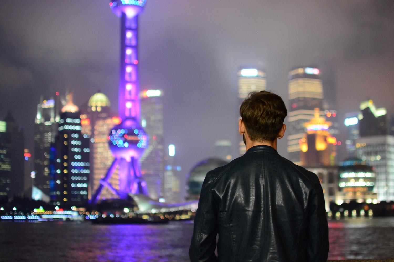 Robert Schrader in Shanghai, China