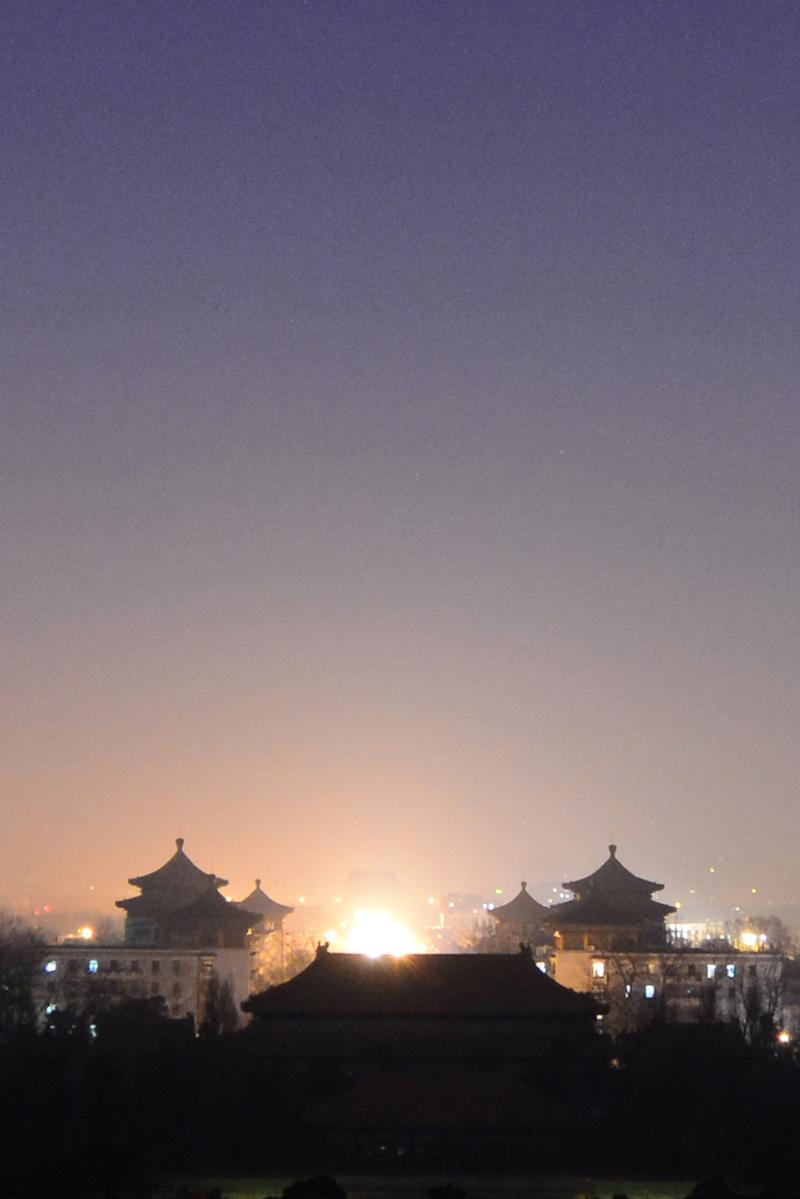 Pagoda in Beijing, China