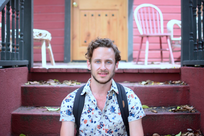 Robert Schrader at Home in Austin, TX
