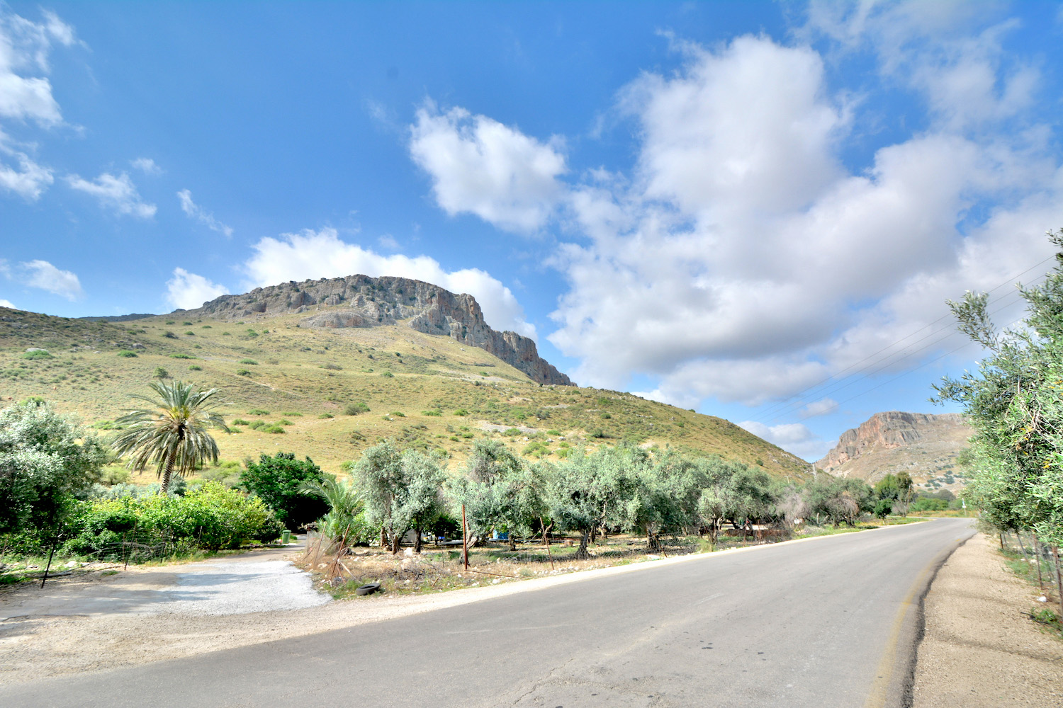 Mt. Arbel in the Galilee