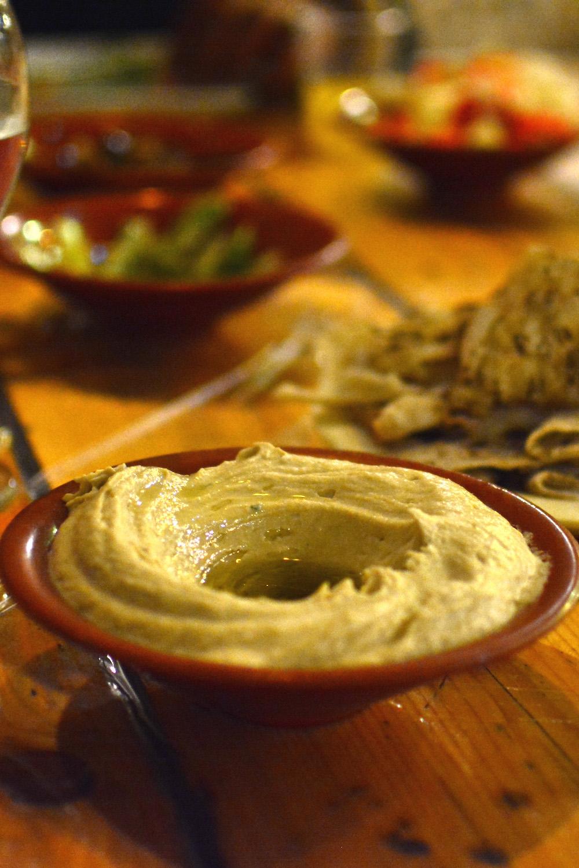 Hummus in Negev Desert