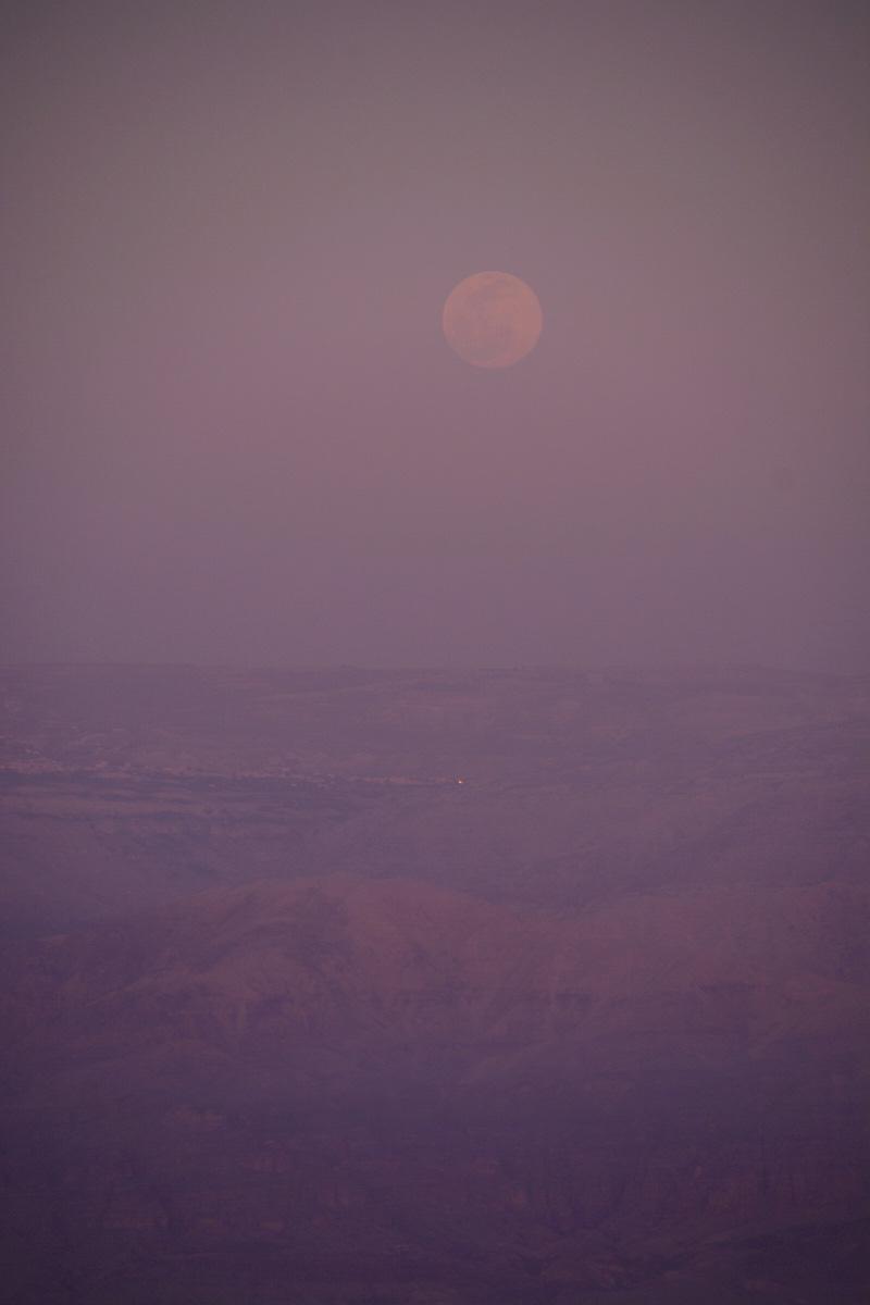 Tel Aviv desert sunset