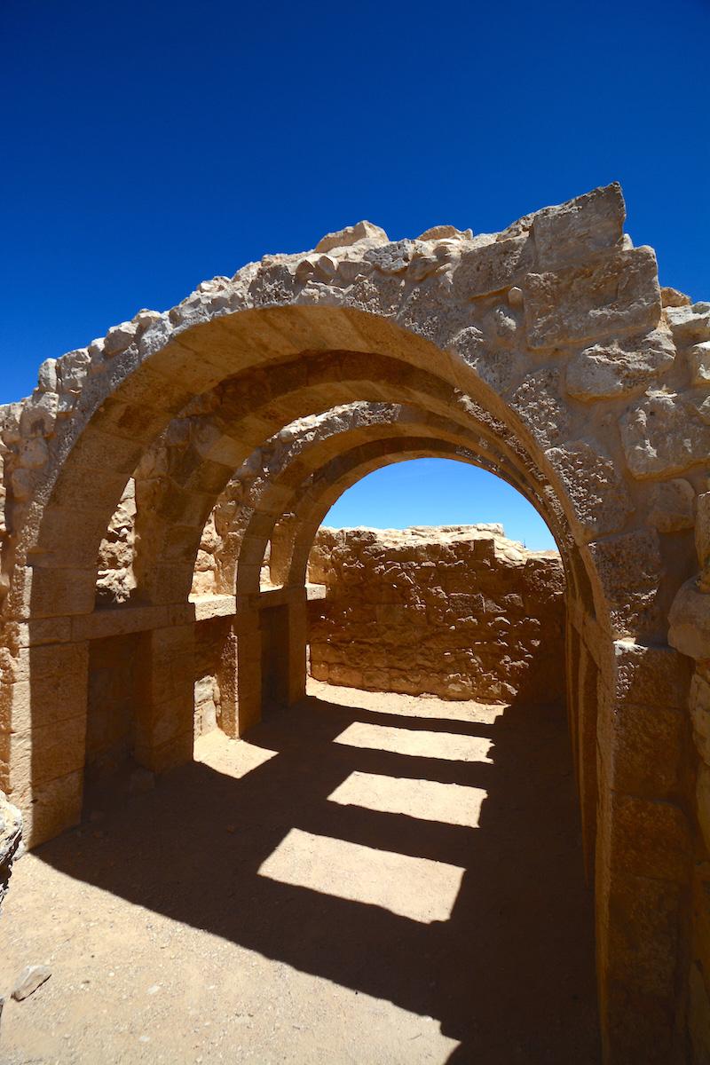 Ruins in Judean Desert
