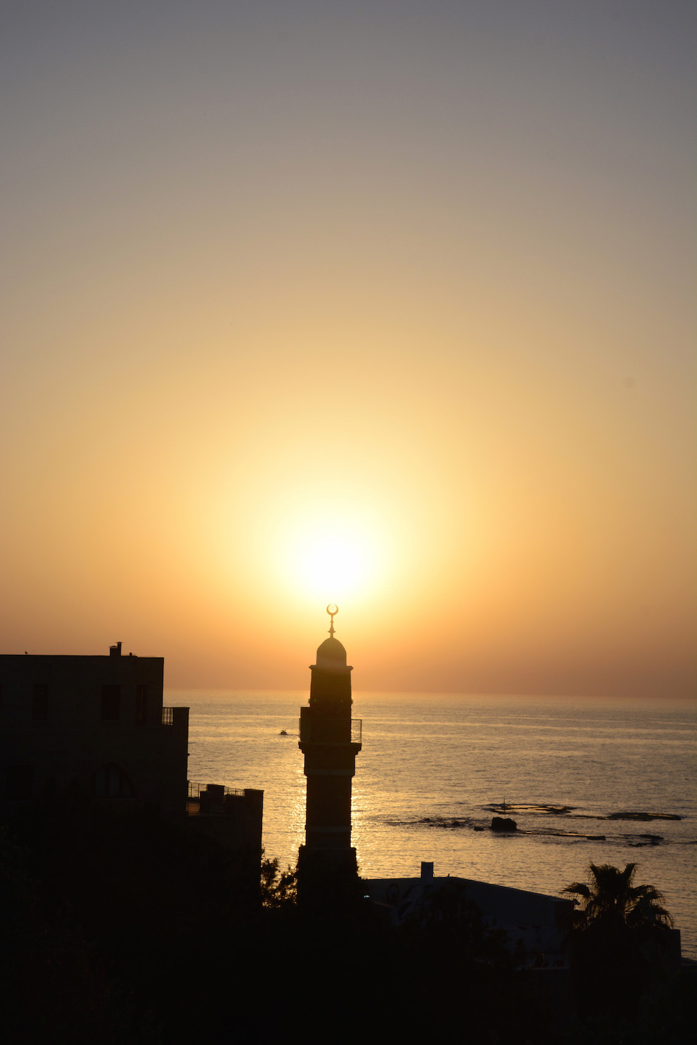 Tel Aviv Sunset in Jaffa