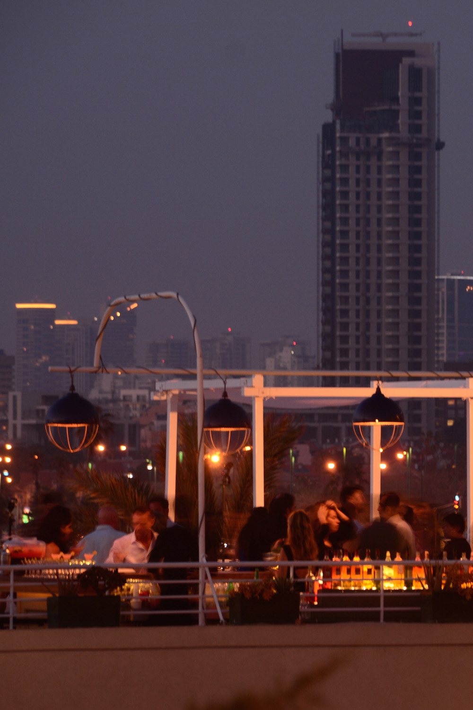 Tel Aviv Rooftop Restaurant