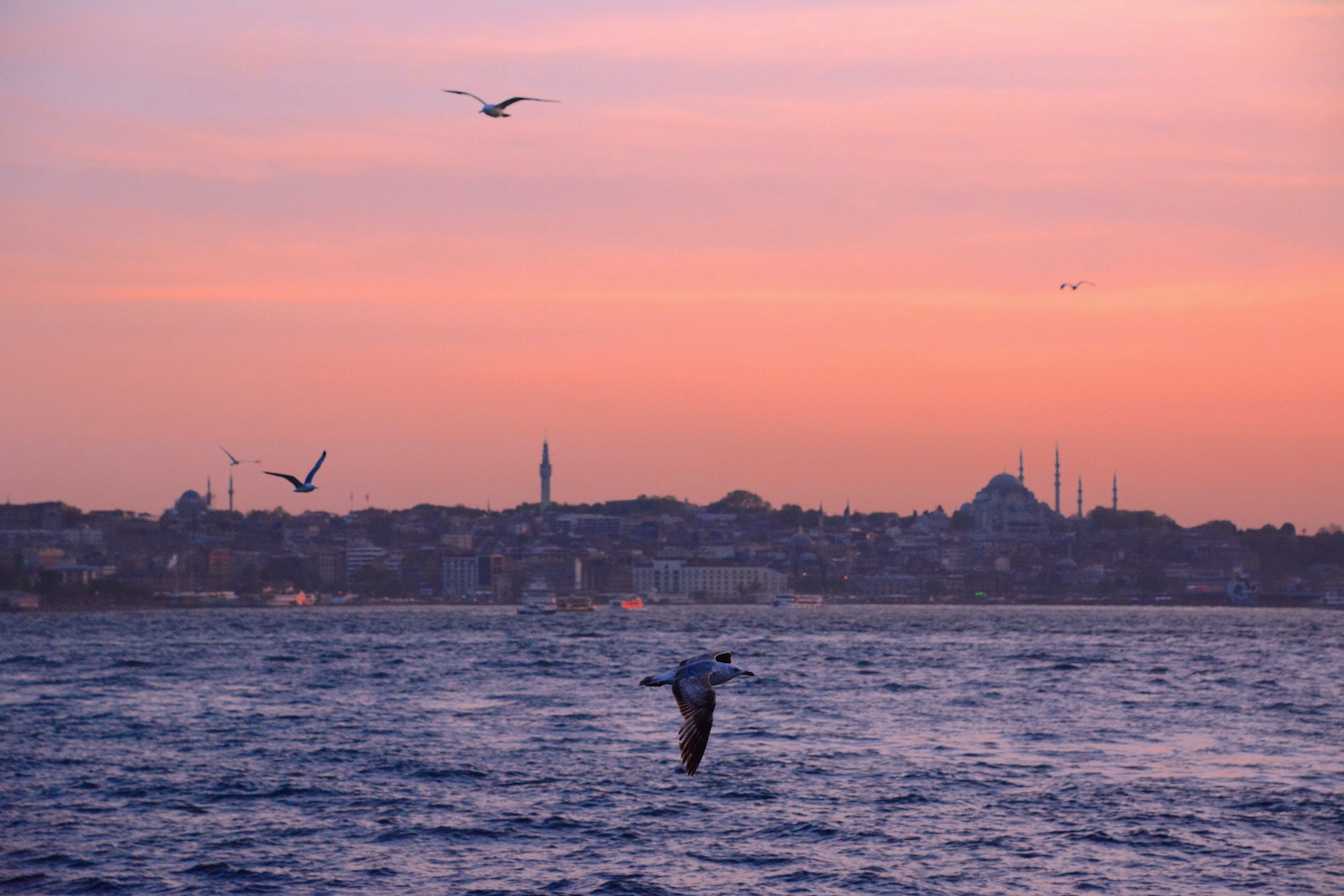 Istanbul, Turkey at Sunset