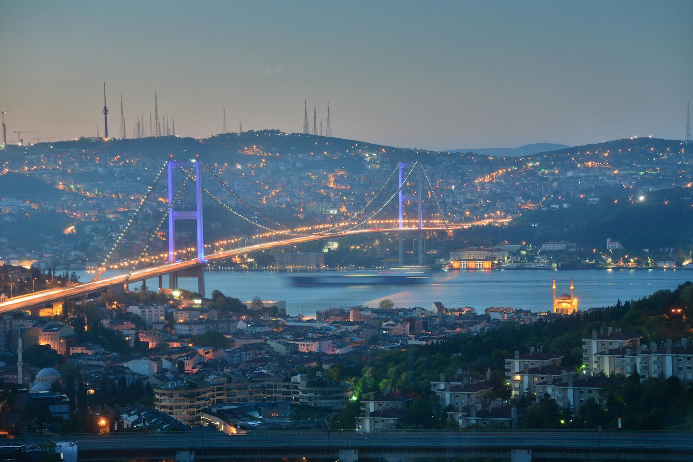 Bosphorous Bridge in Istanbul
