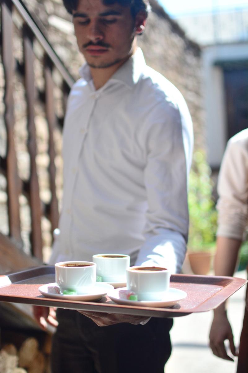 Turkish Coffee in Sille, Konya