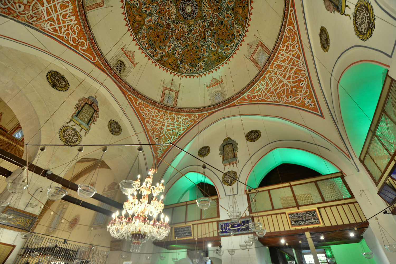 Green Mausoleum in Konya, Turkey