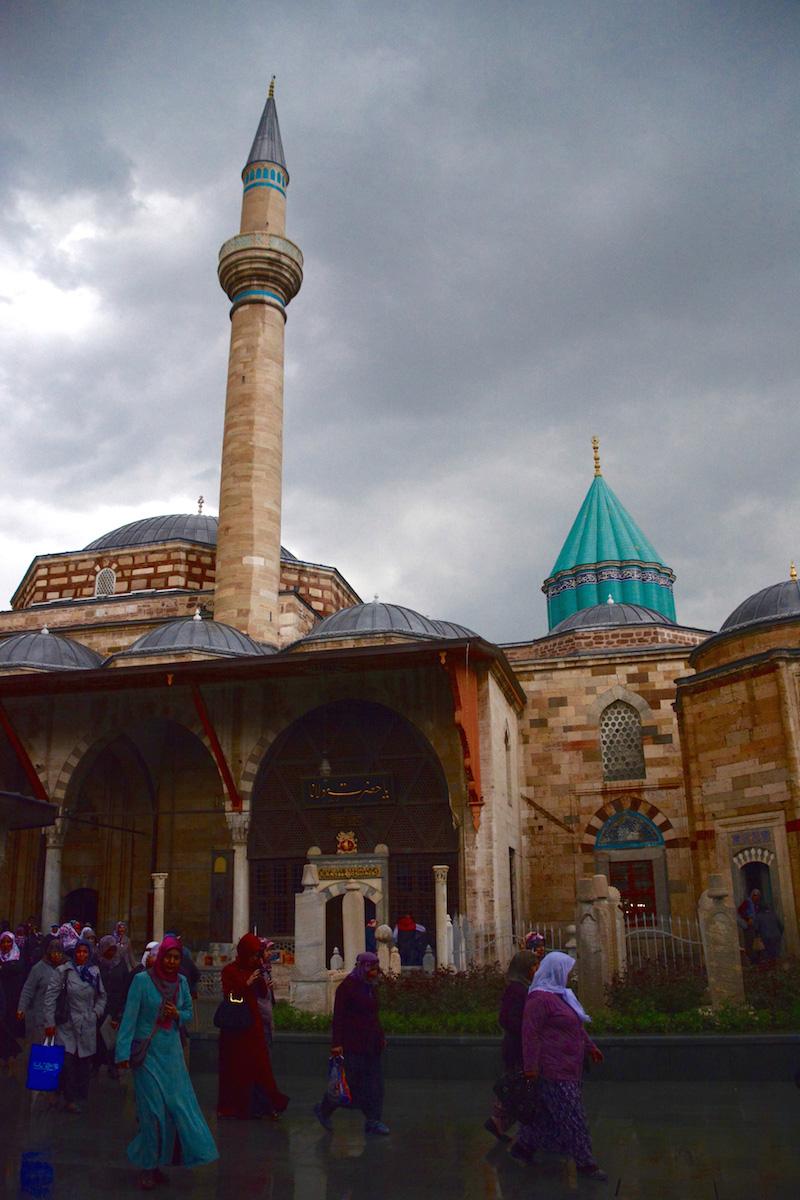 Green Mausoleum in Konya, Turkey