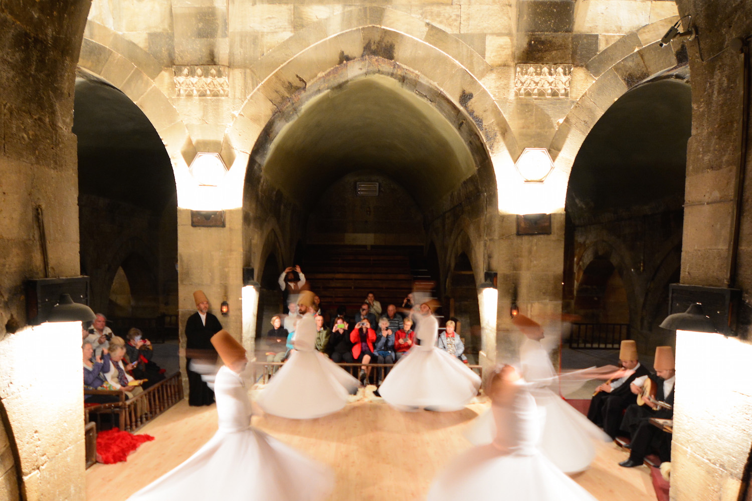 Whirling Dervishes in Cappadocia, Turkey