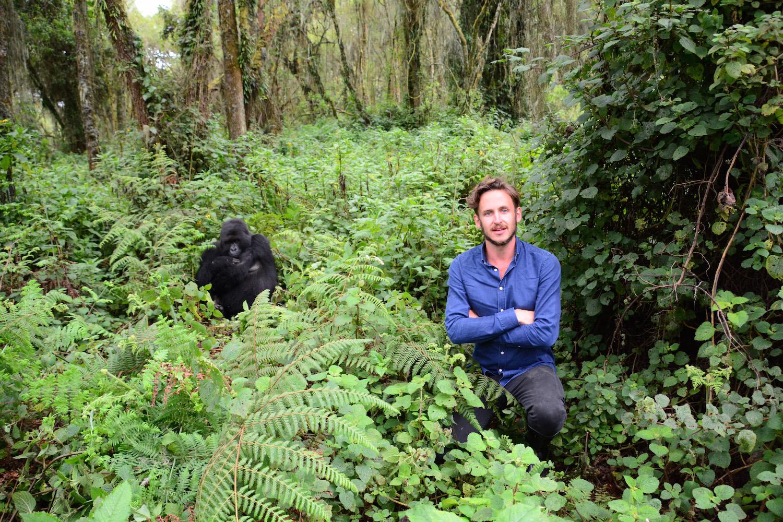Robert Schrader in Musanze, Rwanda