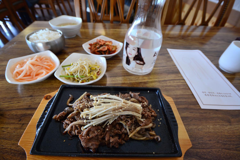 Beef Bulgogi in Seoul