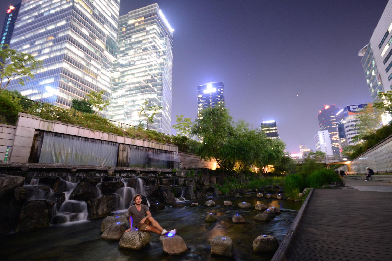 Robert Schrader in Seoul, South Korea